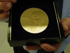 WASP Congressional Gold Medal for Aunt Fran