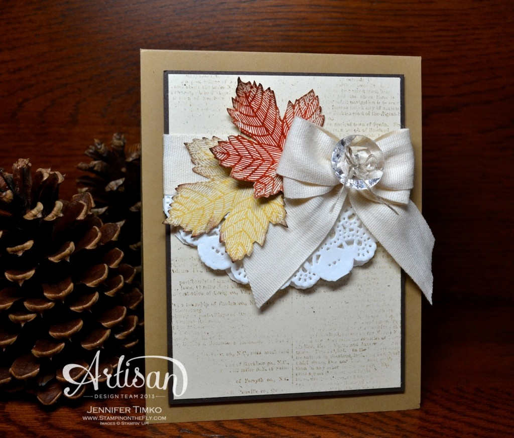 AWW Sep - Autumn Maple Leaves