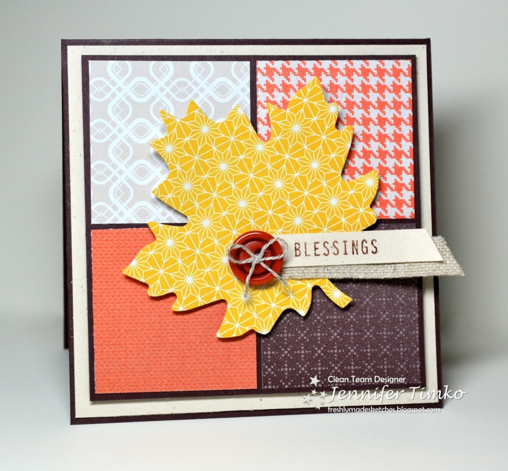 FMS105 - Fall blessings