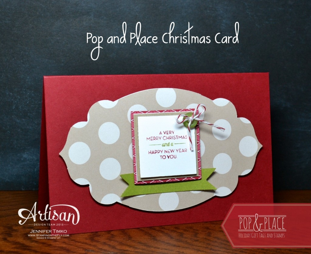 AWW Oct - Pop&Place Card