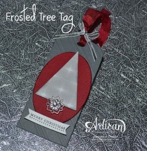 AWW Nov - Frosted Tree Tag
