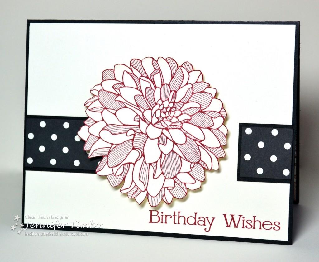 FMS111 - Dahlia Birthday