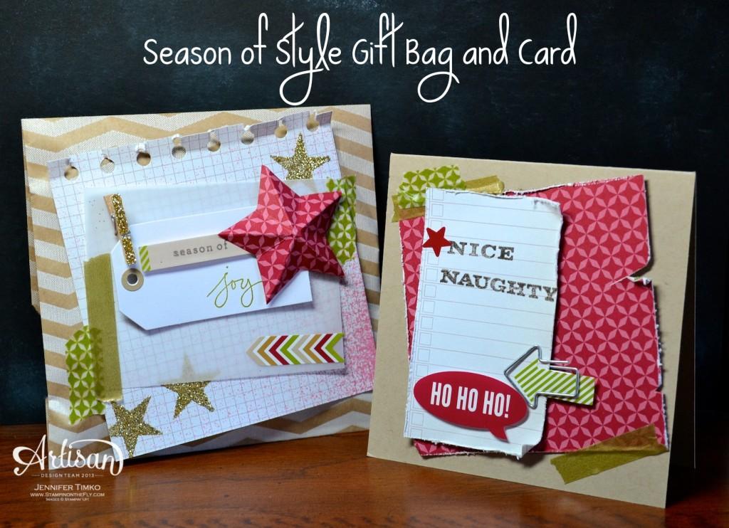 AWW Dec - Stylish Bag and Card Set