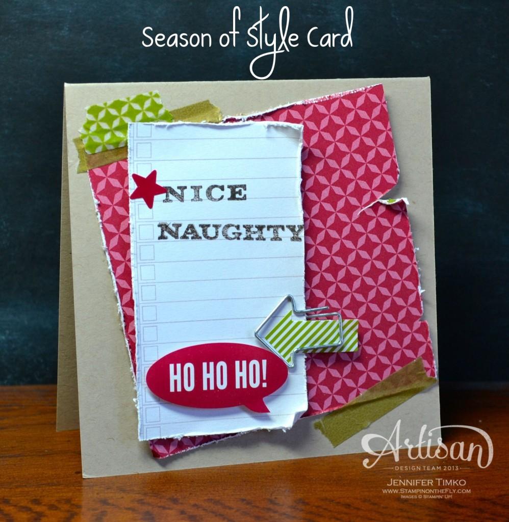 AWW Dec - Stylish Card