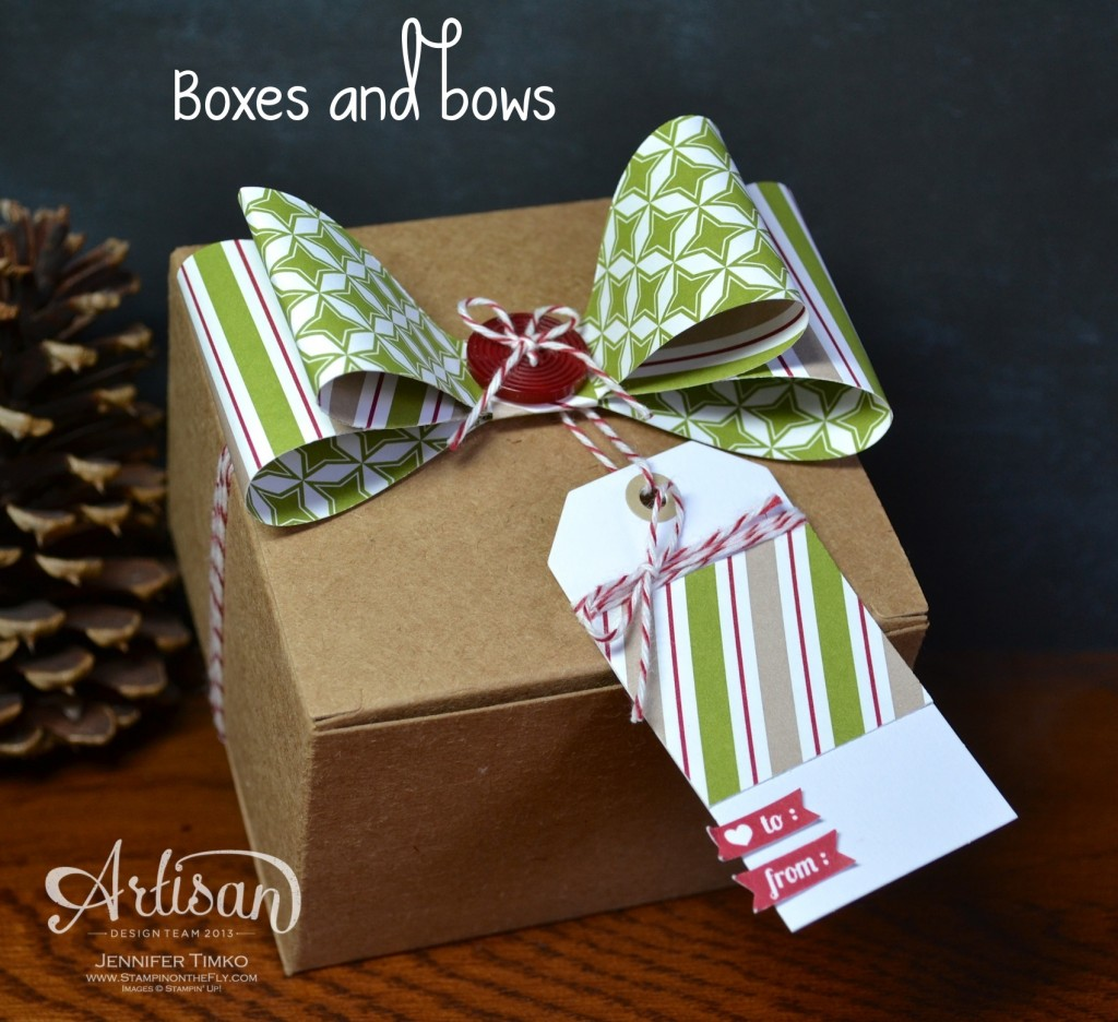 Dec FB- Jennifer - Boxes and Bows