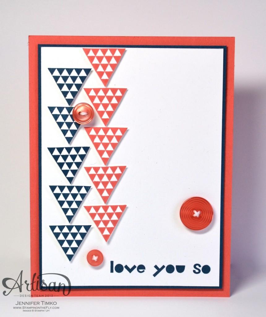 Geometrical - Triangle Love You