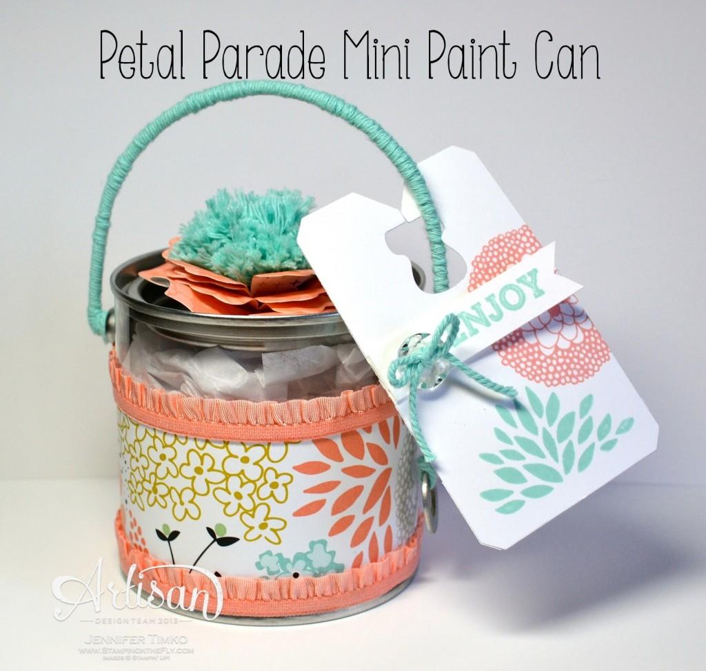 Petal Parade - Mini Paint Can