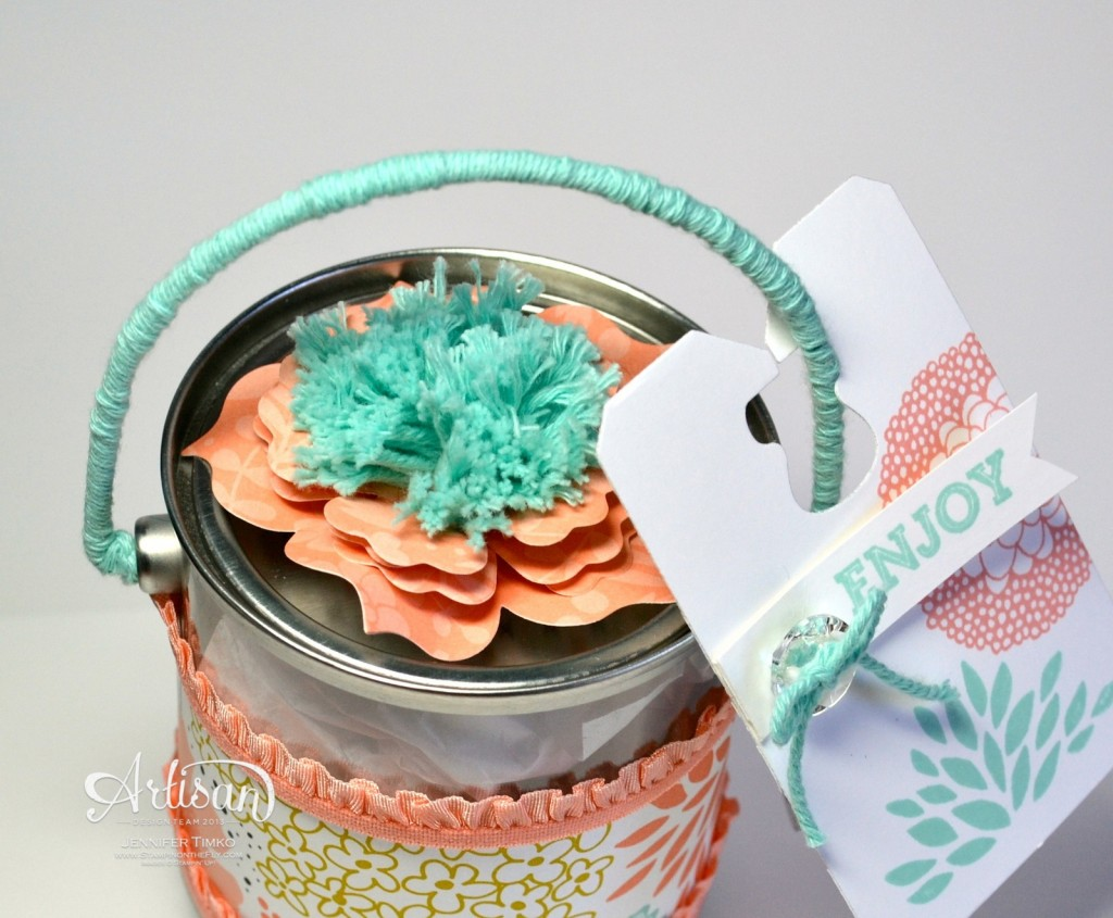 Petal Parade - Mini Paint Can Top