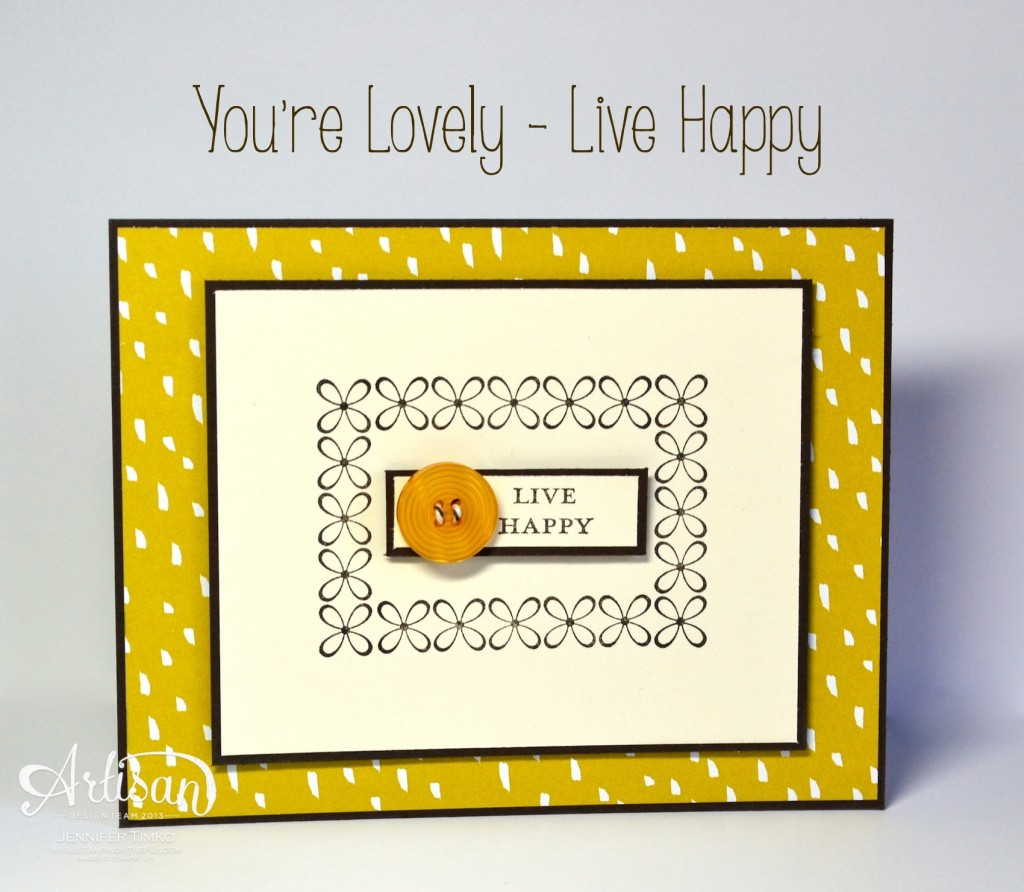You're Lovely - Live Happy
