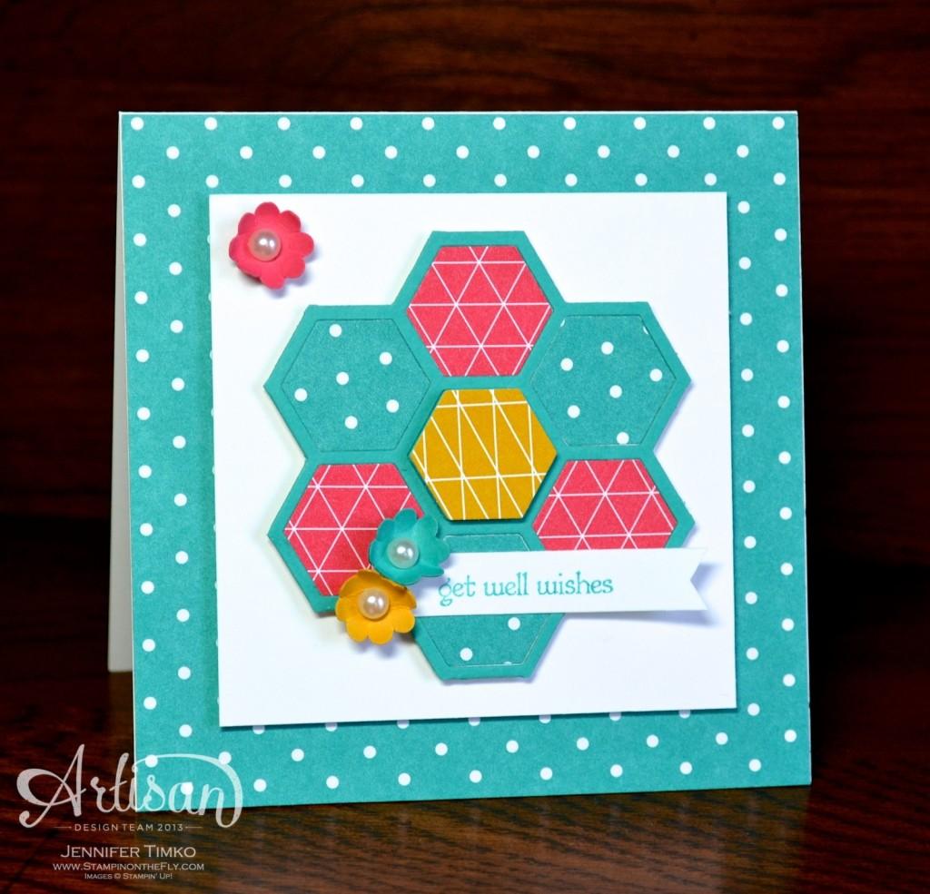 AWW Feb - Hexagon Flower