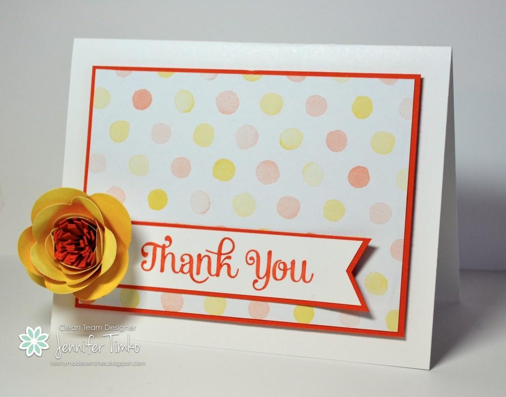 FMS125 - Spiral Flower Thanks