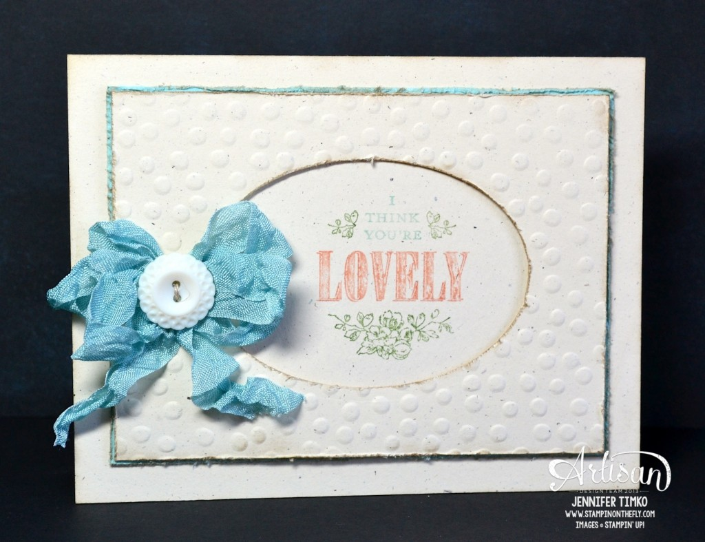 You're Lovely - Lovely with a bow