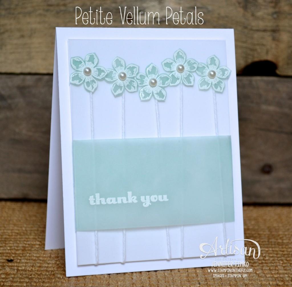 AWW Mar - Vellum Petite Flowers