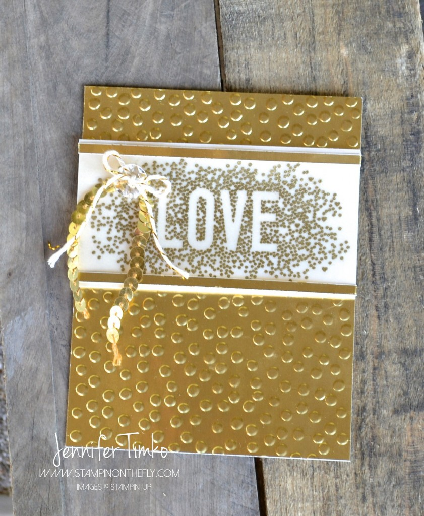 Seasonally Scattered - Gold Love