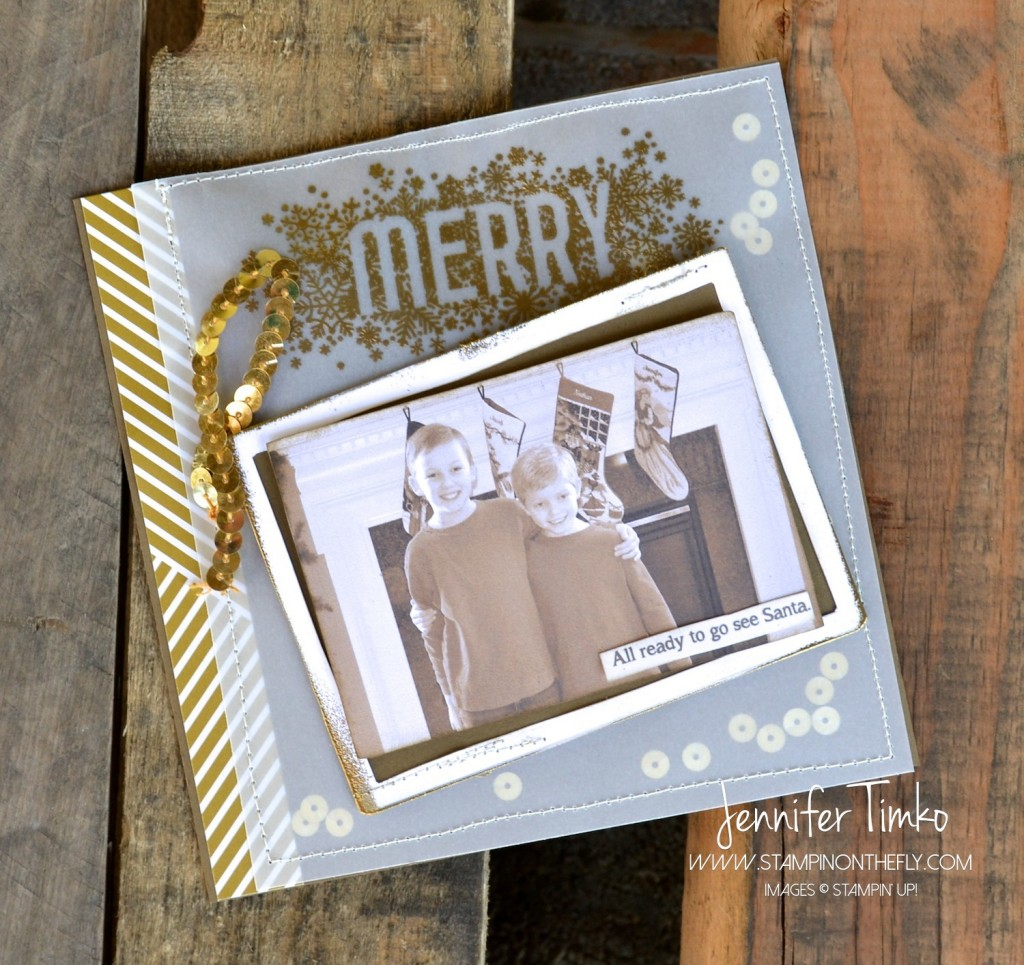 Seasonally Scattered - Merry Scrapbook