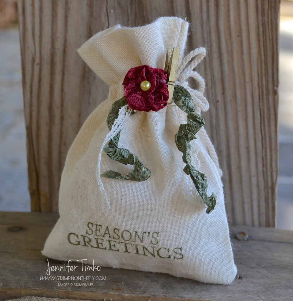 FF Nov - Holiday Flower Bag