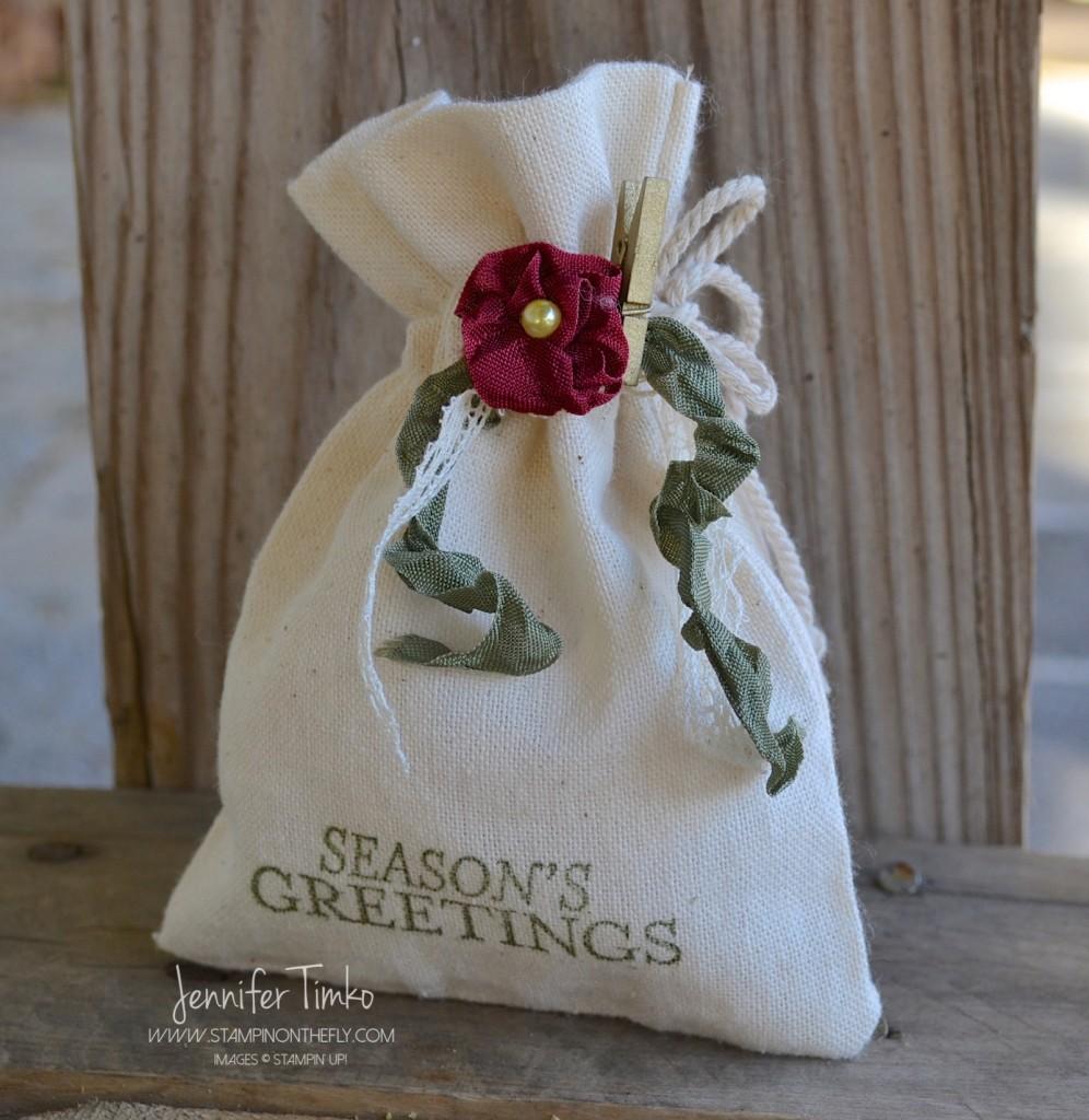FF Nov - Holiday Flower Bag