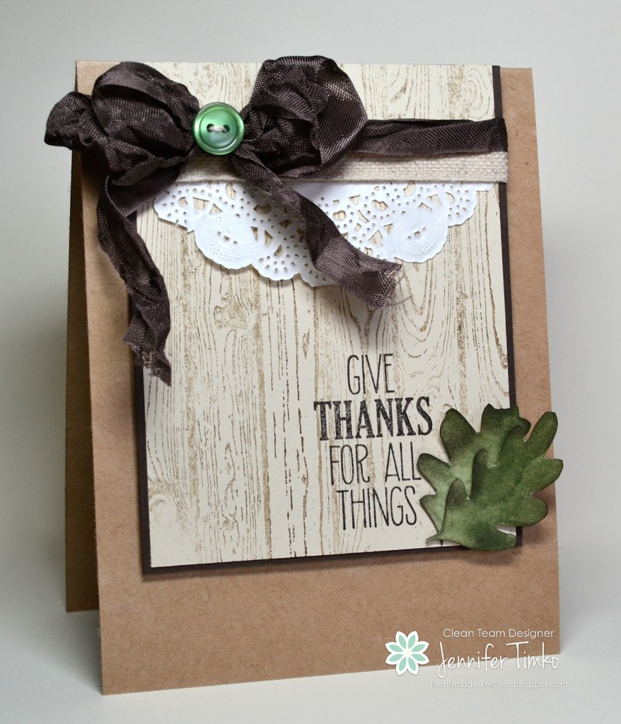 FMS161 - Giving Thanks