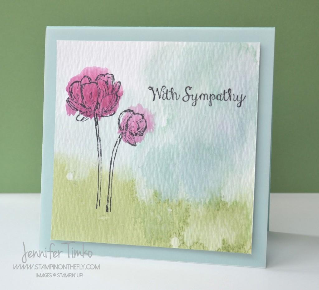 FF Feb - Watercolor Blooms