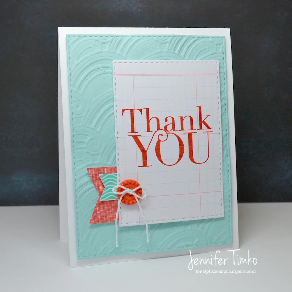 Spellbinders - Thank You