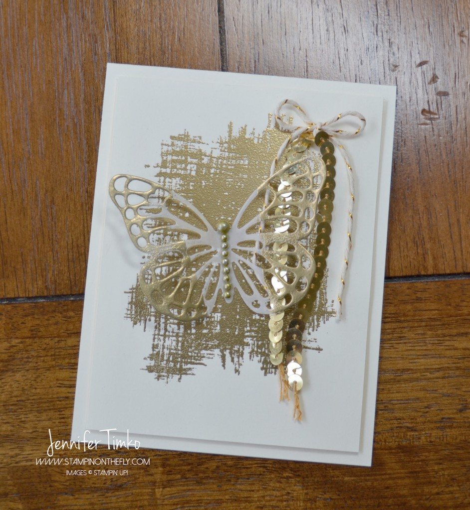FF May - Gold Tipped Butterfly