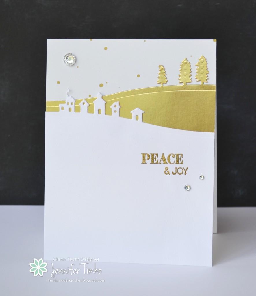 FMS200 - Peace & Joy in Gold