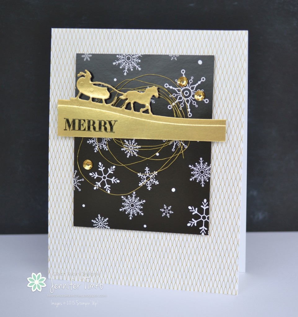 FMS202 - Sleigh in Gold