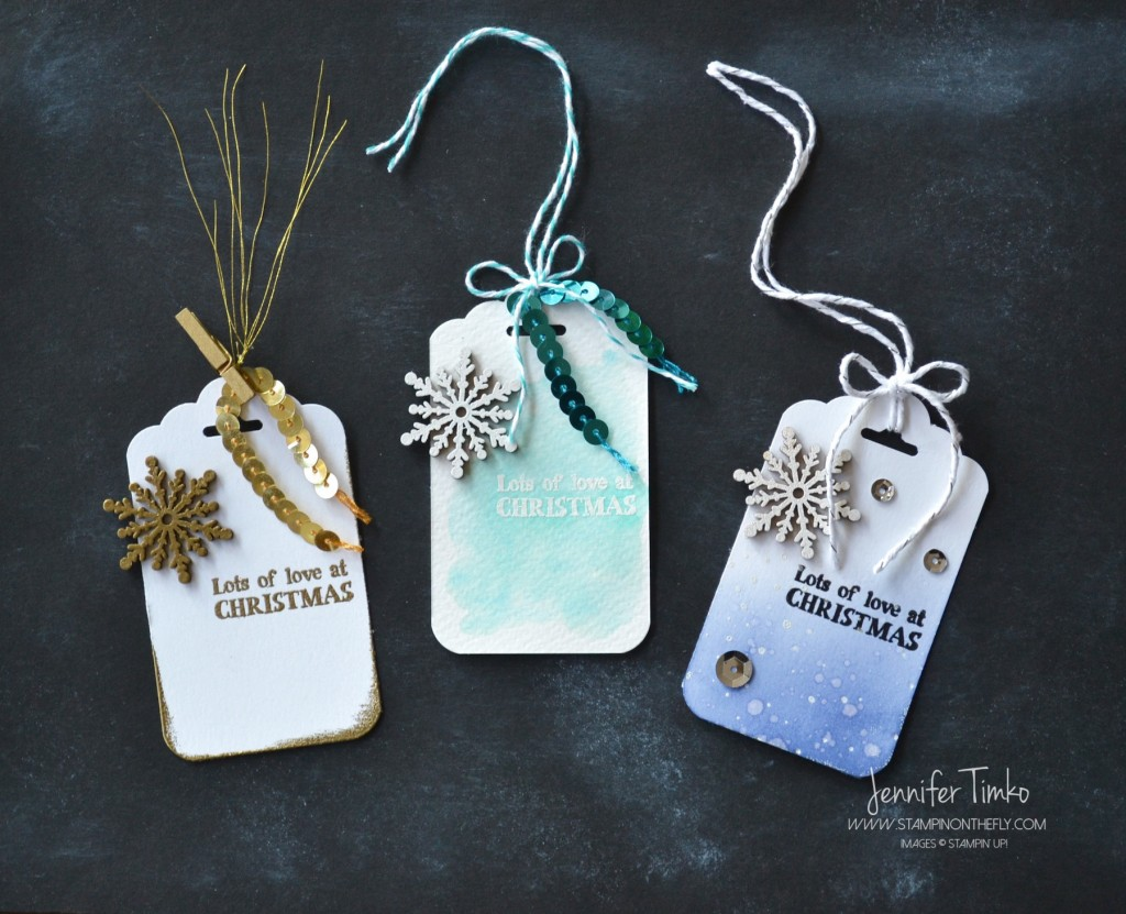 FF Dec - Snowflake Tags