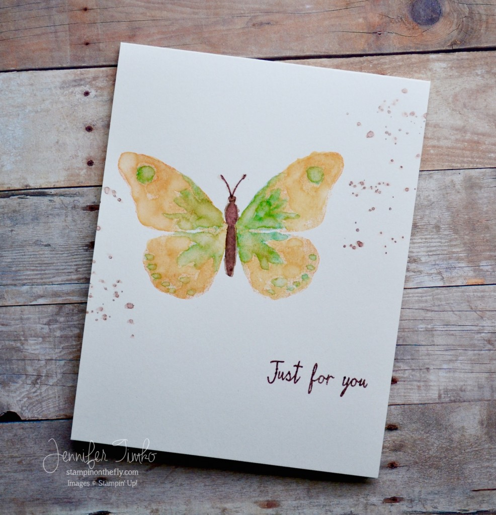 FF Feb - Watercolor Butterfly