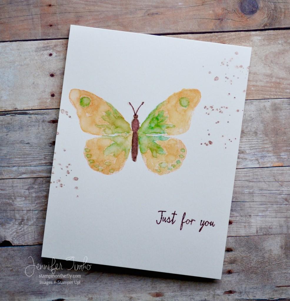 FF Feb - Watercolor Butterfly