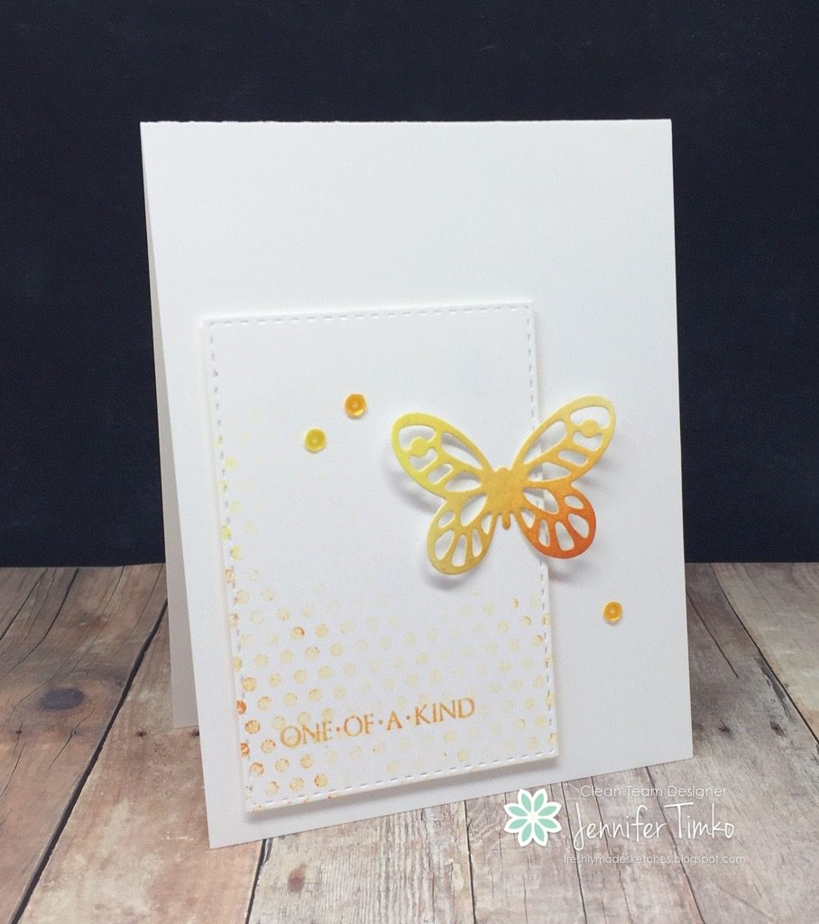 Jen Timko - FMS239 - One of a kind butterfly