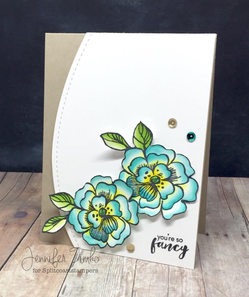 DTGD16stampmomma - Fancy Flowers