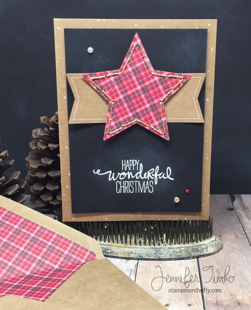 Jen Timko - FF Nov - Plaid Christmas