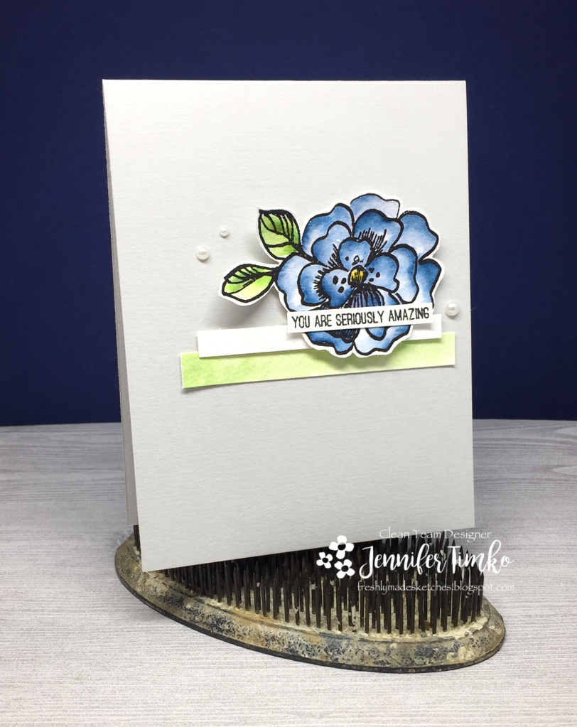 FMS275 - Amazing by Jen Timko | Botanical Garden Stamp Set by Altenew, Zig Clean Color Markers, Watercoloring