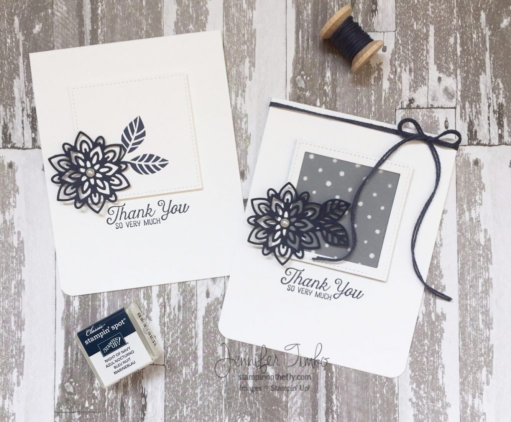 Fancy Friday March by Jen Timko | Flourishing Phrases Stamp Set and Flourish Thinlits by Stampin' Up