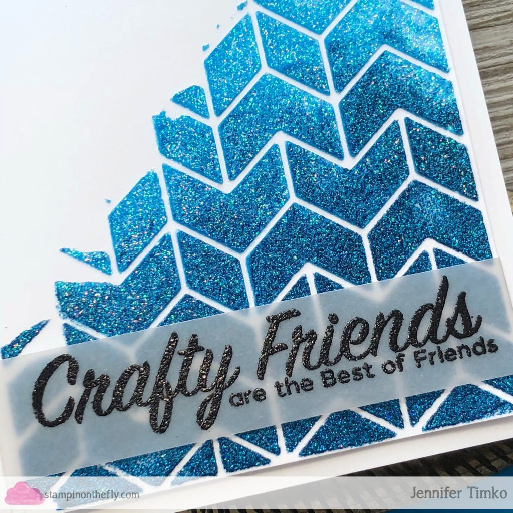 Crafty Friends by Jen Timko | Crafty Friends Stamp Set by Picket Fence Studios