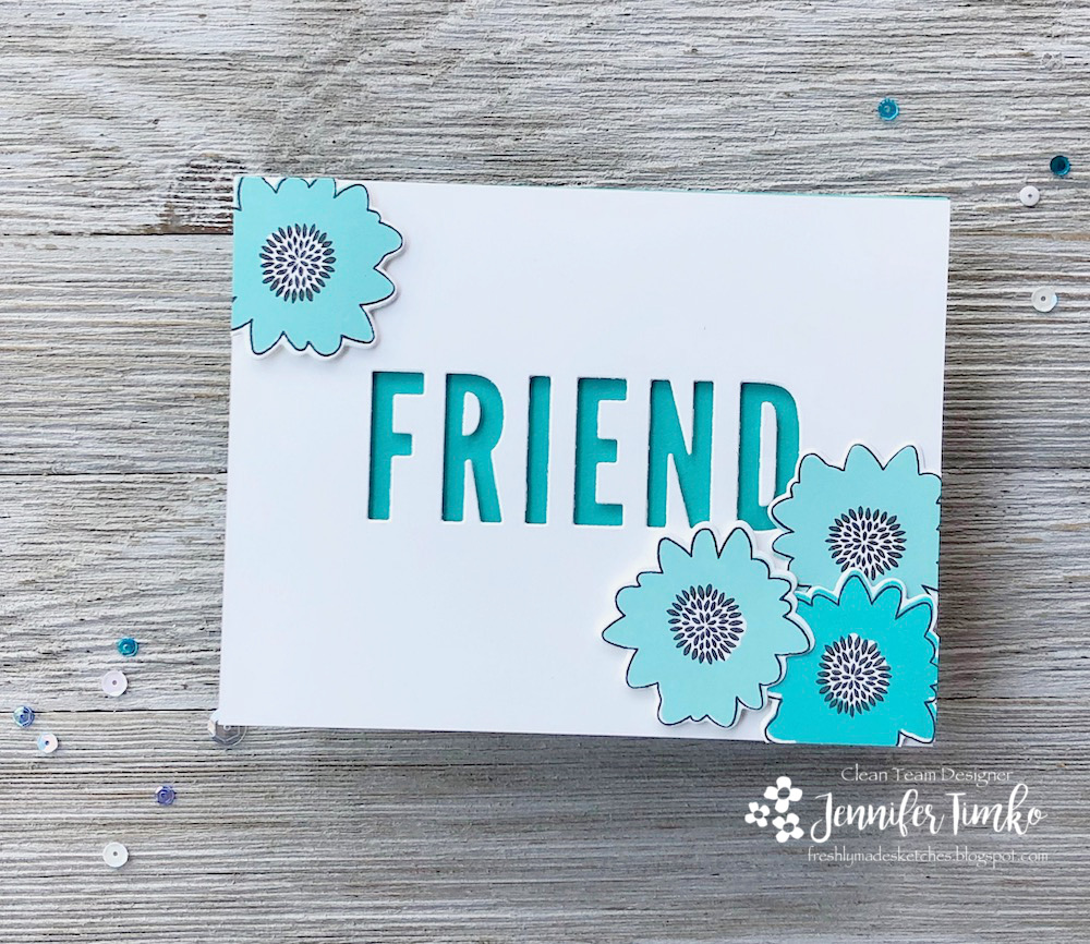 FMS370 by Jen Timko | Posie Fill In Stamps and Dies by Concord and 9th