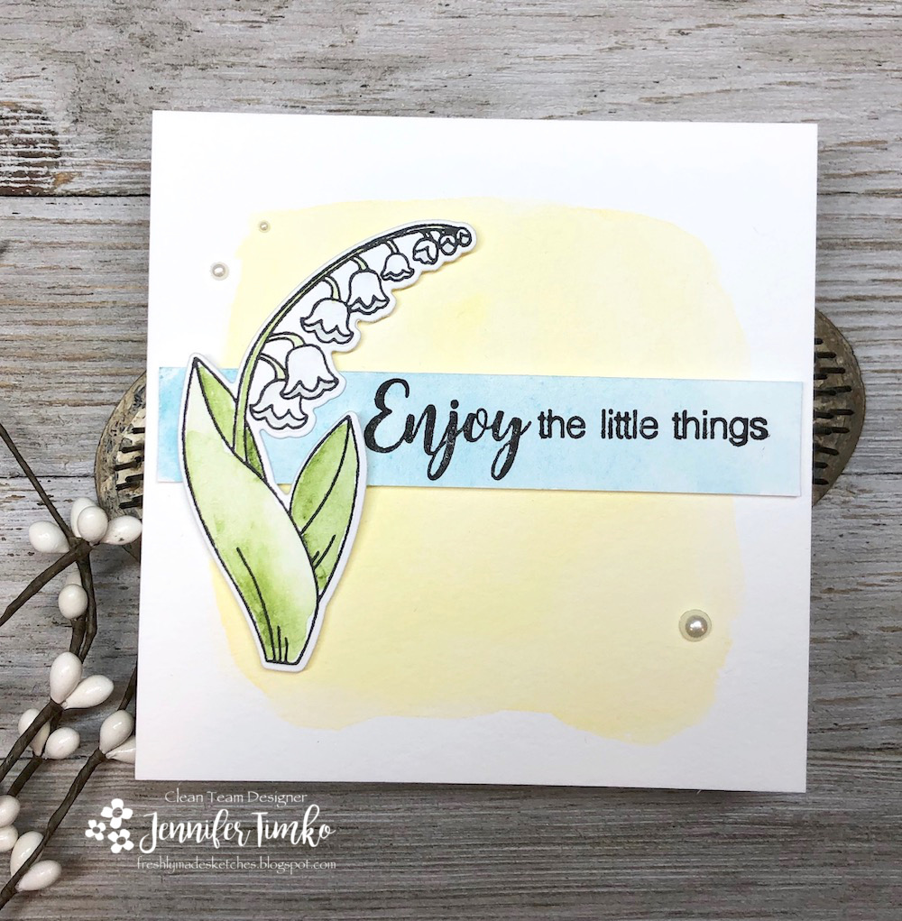 FMS371 by Jen Timko | Little Lilies Stamp Set and Dies by Newton's Nook Designs, Beautiful Ride Stamp Set by Simon Says Stamp, Watercolor